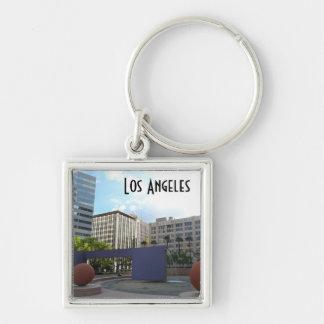 Pershing Los Ángeles cuadrado Llavero