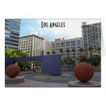 Pershing Los Ángeles cuadrado Tarjeta De Felicitación