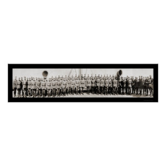 Pershing Officer Ship Photo 1919 Poster