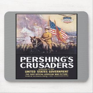 Pershing s Crusaders Mouse Pad