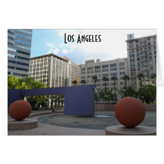 Pershing Square- Los Angeles Card