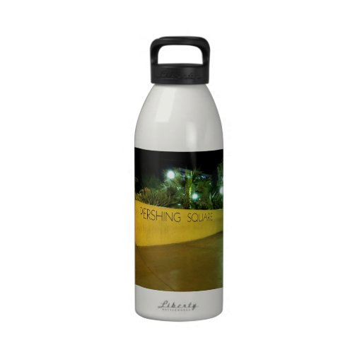 Pershing Square Park Sign Drinking Bottles