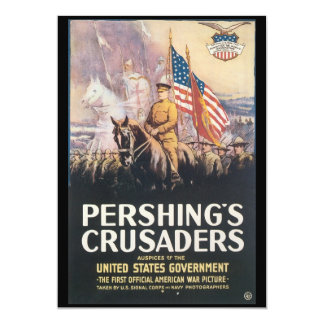 Pershings Crusaders World War II Card