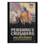 Pershings Crusaders World War II Poster
