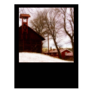Pershyttan historical mining village postcard