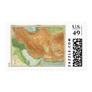 Persia 2 postage stamps