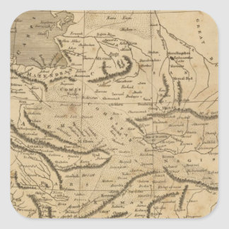 Persia 5 square sticker