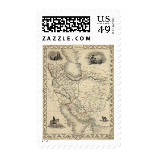 Persia 6 postage stamps