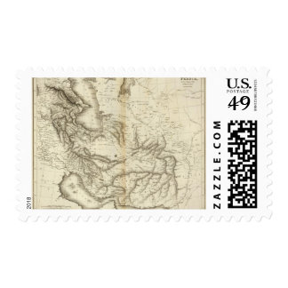 Persia 9 postage stamps