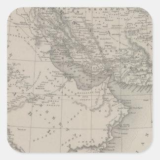 Persia and Arabia Square Sticker