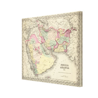 Persia Arabia 2 Impresiones En Lona