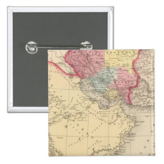 Persia, Arabia 2 Pin Cuadrada 5 Cm