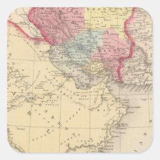 Persia, Arabia 2 Square Sticker