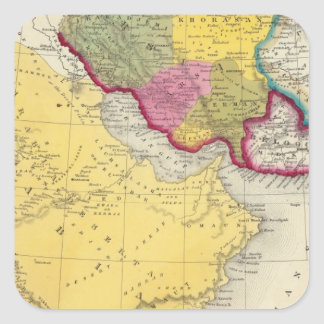 Persia Arabia 2 Square Sticker