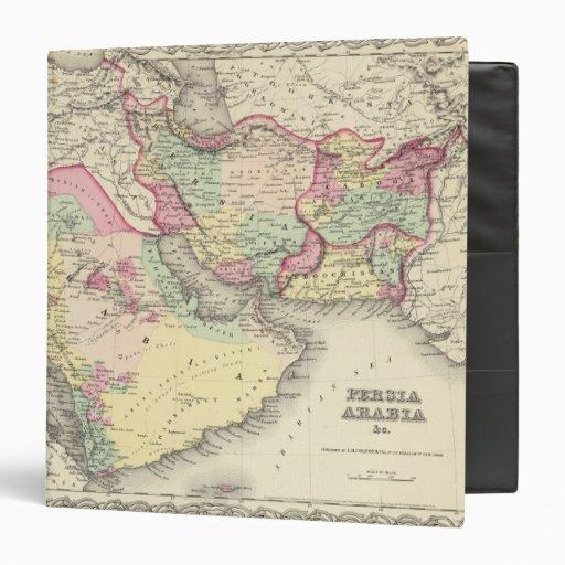 "Persia Arabia Carpeta 1 1/2"""