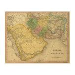 Persia Arabia Impresiones En Madera