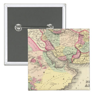 Persia Arabia Pin Cuadrado