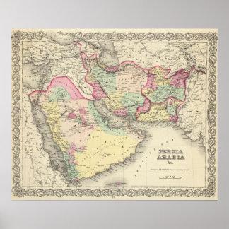 Persia Arabia Póster