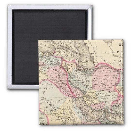 Persia, Arabia, Turkey, Afghanistan, Beloochistan Magnet