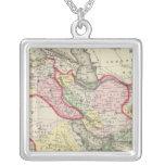 Persia, Arabia, Turquía, Afganistán, Beloochistan Colgante Cuadrado