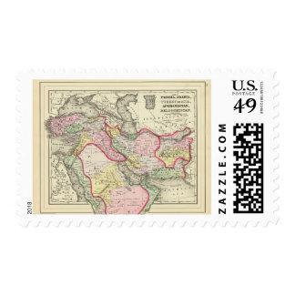 Persia, Arabia, Turquía, Afganistán, Beloochistan Estampillas