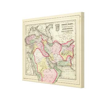Persia, Arabia, Turquía, Afganistán, Beloochistan Impresiones En Lona Estiradas