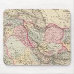 Persia, Arabia, Turquía, Afganistán, Beloochistan Mousepad