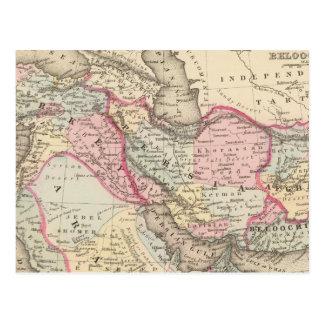 Persia, Arabia, Turquía, Afganistán, Beloochistan Postal