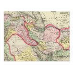Persia, Arabia, Turquía, Afganistán, Beloochistan Tarjeta Postal