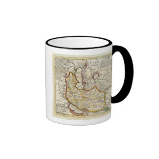 Persia, Caspian Sea, part of Independent Tartary Ringer Coffee Mug