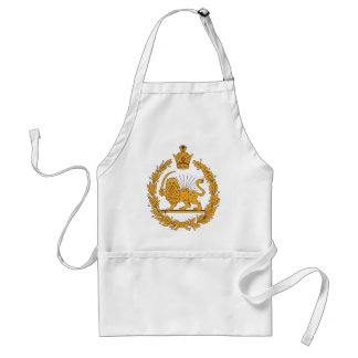 Persia Coat Of Arms Adult Apron