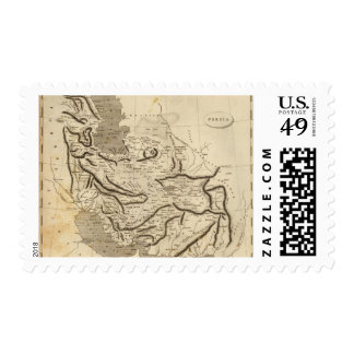 Persia Map by Arrowsmith Stamp