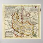 Persia, mar Caspio, parte de Tartary independiente Posters