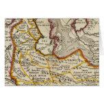 Persia, mar Caspio, parte de Tartary independiente Tarjetas