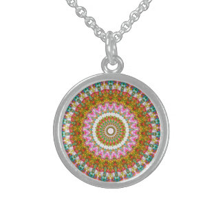 Persia Round Pendant Necklace