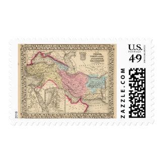 Persia, Turkey, Afghanistan, Beloochistan Postage