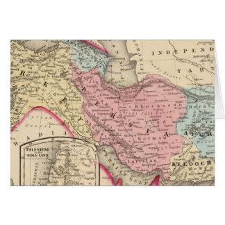 Persia, Turquía, Afganistán, Beloochistan Tarjeta De Felicitación