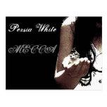 Persia White MECCA album cover post card
