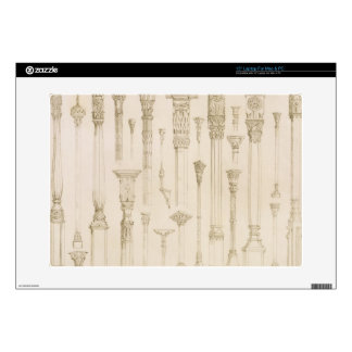 "Persian and Turkish wooden column designs, from 'A 15"" Laptop Skin"
