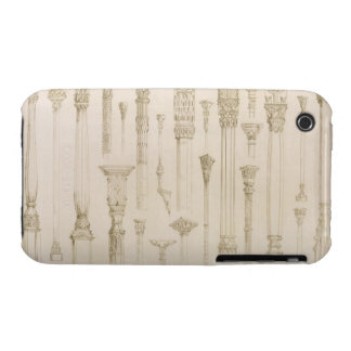Persian and Turkish wooden column designs, from 'A iPhone 3 Case