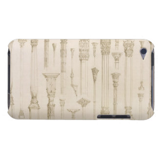 Persian and Turkish wooden column designs, from 'A iPod Touch Cover