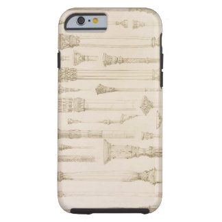 Persian and Turkish wooden column designs, from 'A Tough iPhone 6 Case