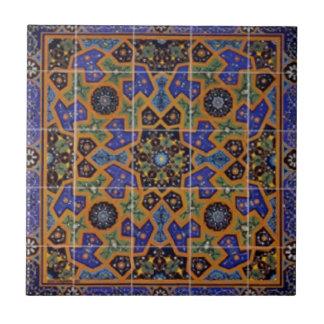 Persian Art Ceramic Tile