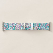 Persian Boteh Paisley Pattern A Watch band