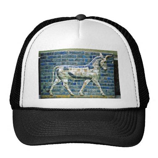 Persian Bull - Glazed Brick, Istanbul Mesh Hat