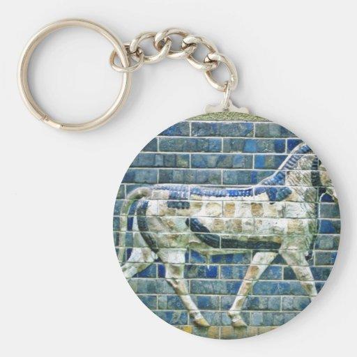Persian Bull - Glazed Brick, Istanbul Key Chain