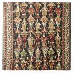 Persian carpet, 19th-20th century large square tile