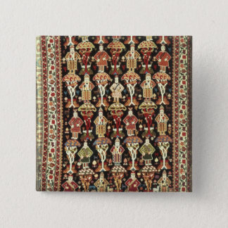 Persian carpet, 19th-20th century pinback button