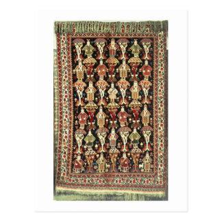 Persian carpet, 19th-20th century postcard