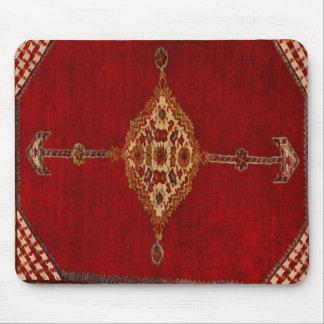 Persian carpet -bold design mouse pad